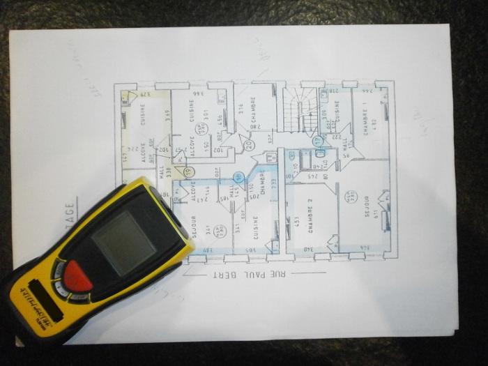 mesure des surfaces